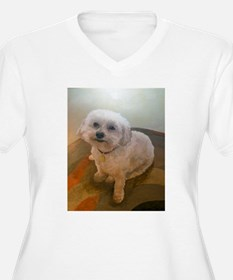 Miniature Poodle Angus Plus Size T-Shirt