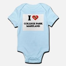 I love College Park Maryland Body Suit