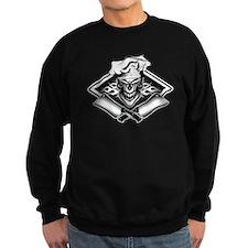 Chef Skull and Smoking Cleavers Sweatshirt