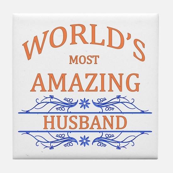 Husband Tile Coaster