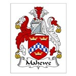 Mahewe Family Crest Small Poster