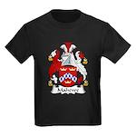 Mahewe Family Crest Kids Dark T-Shirt