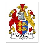 Maddox Family Crest Small Poster