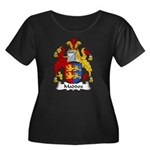 Maddox Family Crest Women's Plus Size Scoop Neck D