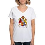 Maddox Family Crest Women's V-Neck T-Shirt