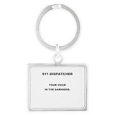 911 DISPATCHER VOICE Keychains