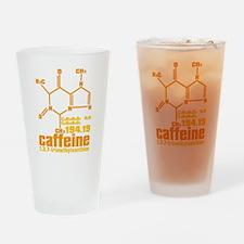 Caffeine Drinking Glass