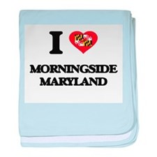 I love Morningside Maryland baby blanket