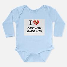 I love Oakland Maryland Body Suit