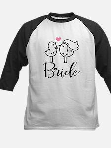 Cute Bride Birds Wedding Tee