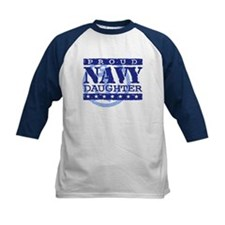Proud Navy Daughter Tee