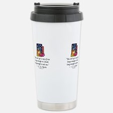 Funny Book lovers Stainless Steel Travel Mug