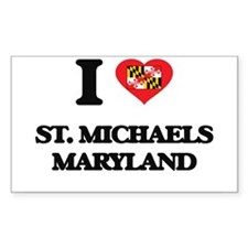 I love St. Michaels Maryland Decal