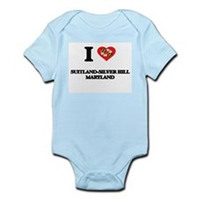 I love Suitland-Silver Hill Maryland Body Suit