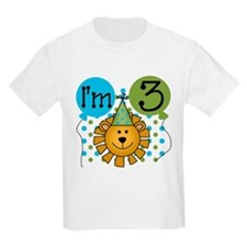 Lion 3rd Birthday T-Shirt