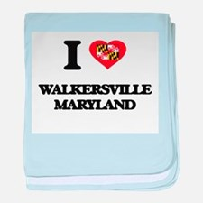 I love Walkersville Maryland baby blanket