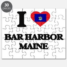 I love Bar Harbor Maine Puzzle