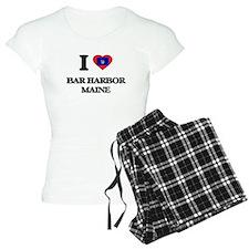 I love Bar Harbor Maine Pajamas