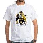 Lyndon Family Crest White T-Shirt