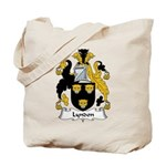 Lyndon Family Crest Tote Bag