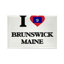 I love Brunswick Maine Magnets