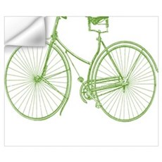 Vintage Bicycle Wall Decal
