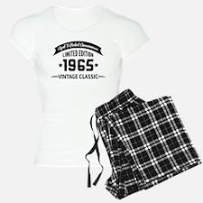 Birthday Born 1965 Aged To Pajamas