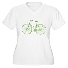Vintage Bicycle Plus Size T-Shirt
