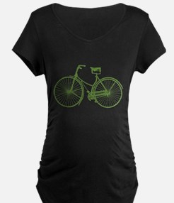 Vintage Bicycle Maternity T-Shirt