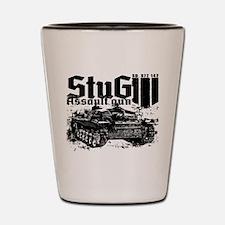 StuG III Shot Glass