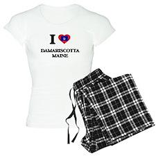 I love Damariscotta Maine Pajamas