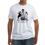 Luther Family Crest Fitted T-Shirt