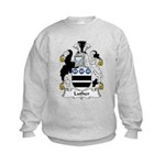 Luther Family Crest Kids Sweatshirt