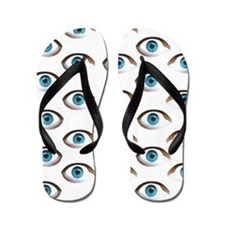 evil eye Flip Flops