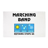 Marching band 3x5 Rugs