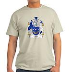 Lusk Family Crest Light T-Shirt