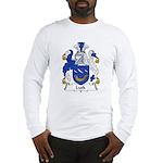 Lusk Family Crest Long Sleeve T-Shirt