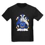 Lusk Family Crest Kids Dark T-Shirt
