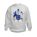 Lusk Family Crest Kids Sweatshirt