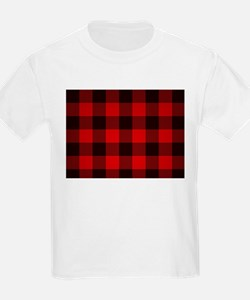 Cute Red plaid T-Shirt