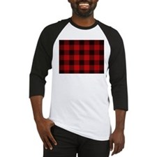Unique Red plaid Baseball Jersey