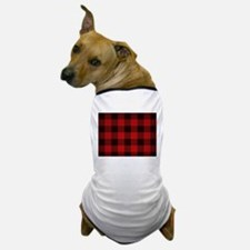 Unique Plaid Dog T-Shirt