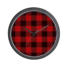 Cute Black and red Wall Clock