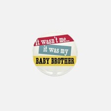 Baby Brother Mini Button