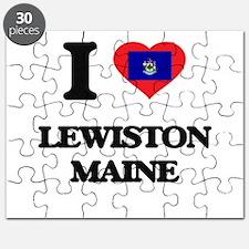 I love Lewiston Maine Puzzle