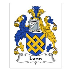 Lunn Family Crest Posters