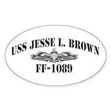 USS JESSE L. BROWN Decal