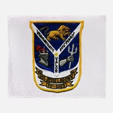 USS JESSE L. BROWN Throw Blanket