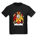 Lund Family Crest Kids Dark T-Shirt