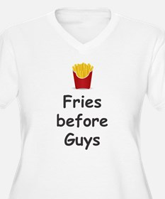 FRIES BEFORE GUYS Plus Size T-Shirt